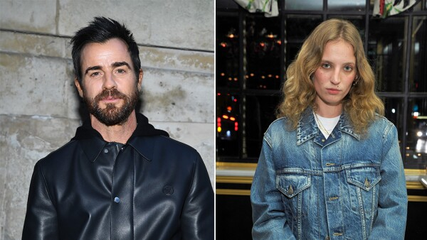 Justin Theroux y Petra Collins