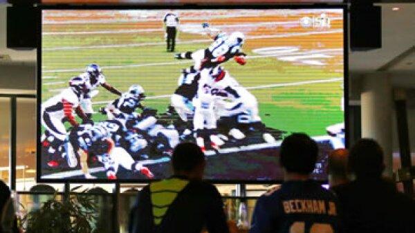 La final de la NFL tuvo una leve caída en cuanto a su nivel de audiencia en Estados Unidos. (Foto: Reuters )