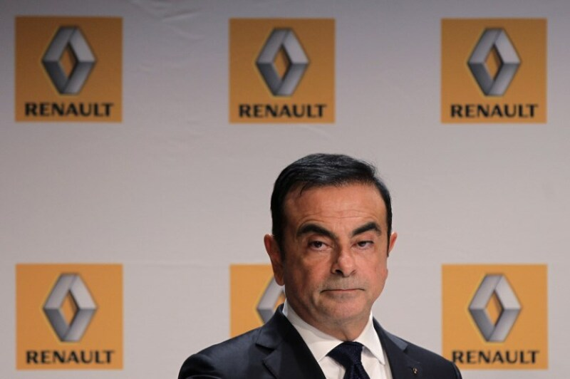 Carlos Ghosn expresidente de Renault