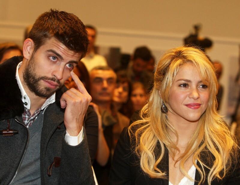 Se dice que la colombiana se molestó con su novio después de encontrar algunas fotos de modelos en el celular del futbolista.