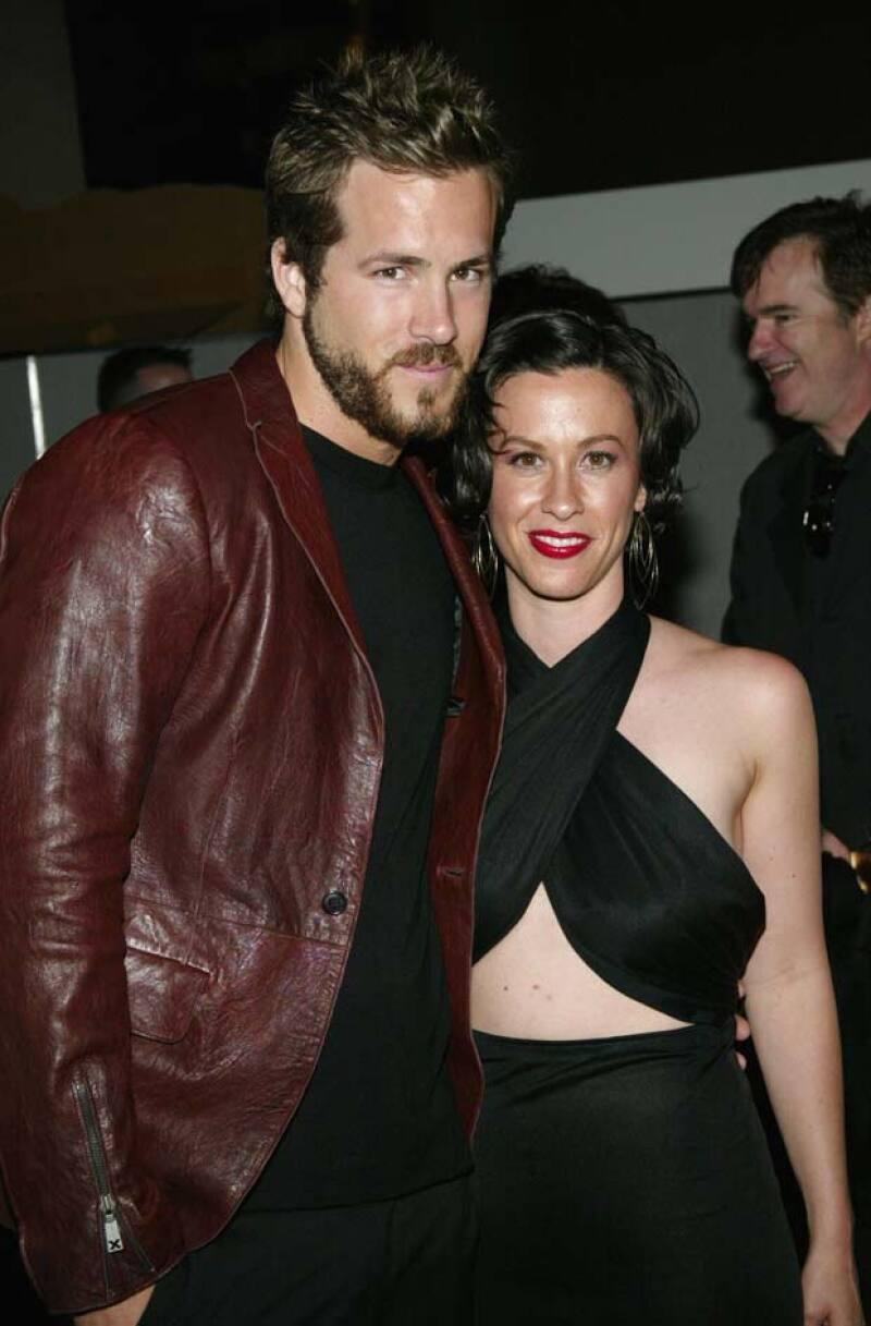 Ryan Reynolds y Alanis Morissette estaban muy enamorados, sin embargo, terminaron por romper su compromiso.