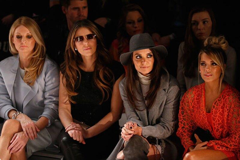 Ni las modelos en la pasarela pudieron robarle el spotlight a la actriz, quien lució mejor que nunca durante la semana de la moda en Alemania.