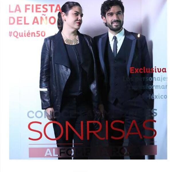 Ruby y Alfonso Herrera