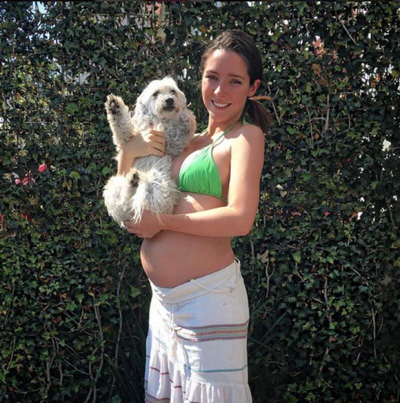La actriz constantemente comparte fotos con sus mascotas.