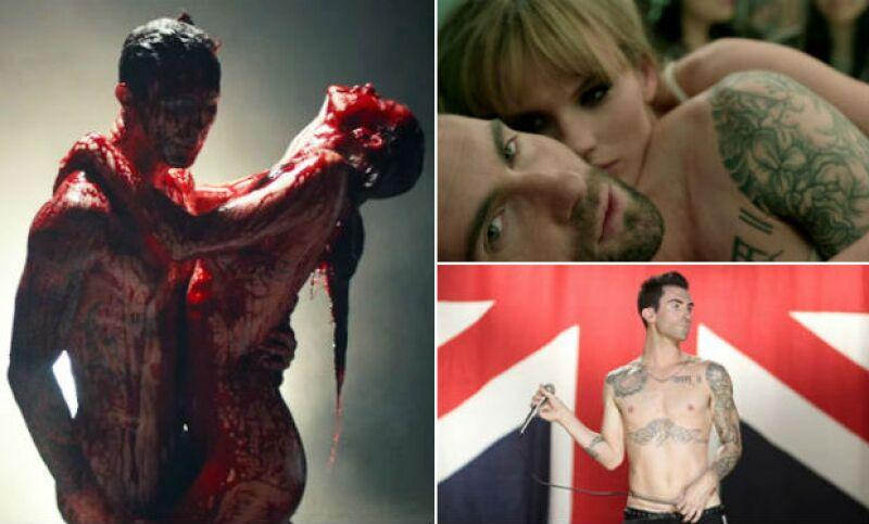 Más allá de la controversia acerca de la autenticidad del nuevo video del grupo, Adam Levine y su banda han protagonizado en su historia una serie de clips con temáticas muy sexys y provocativas.