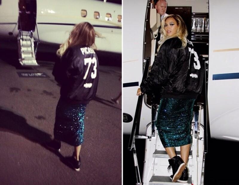 Ayer la cantante se presentó en los Brit Awards, donde lució un vestido largo del diseñador Vrettos Vrettakos, el cual tenía zirconias.