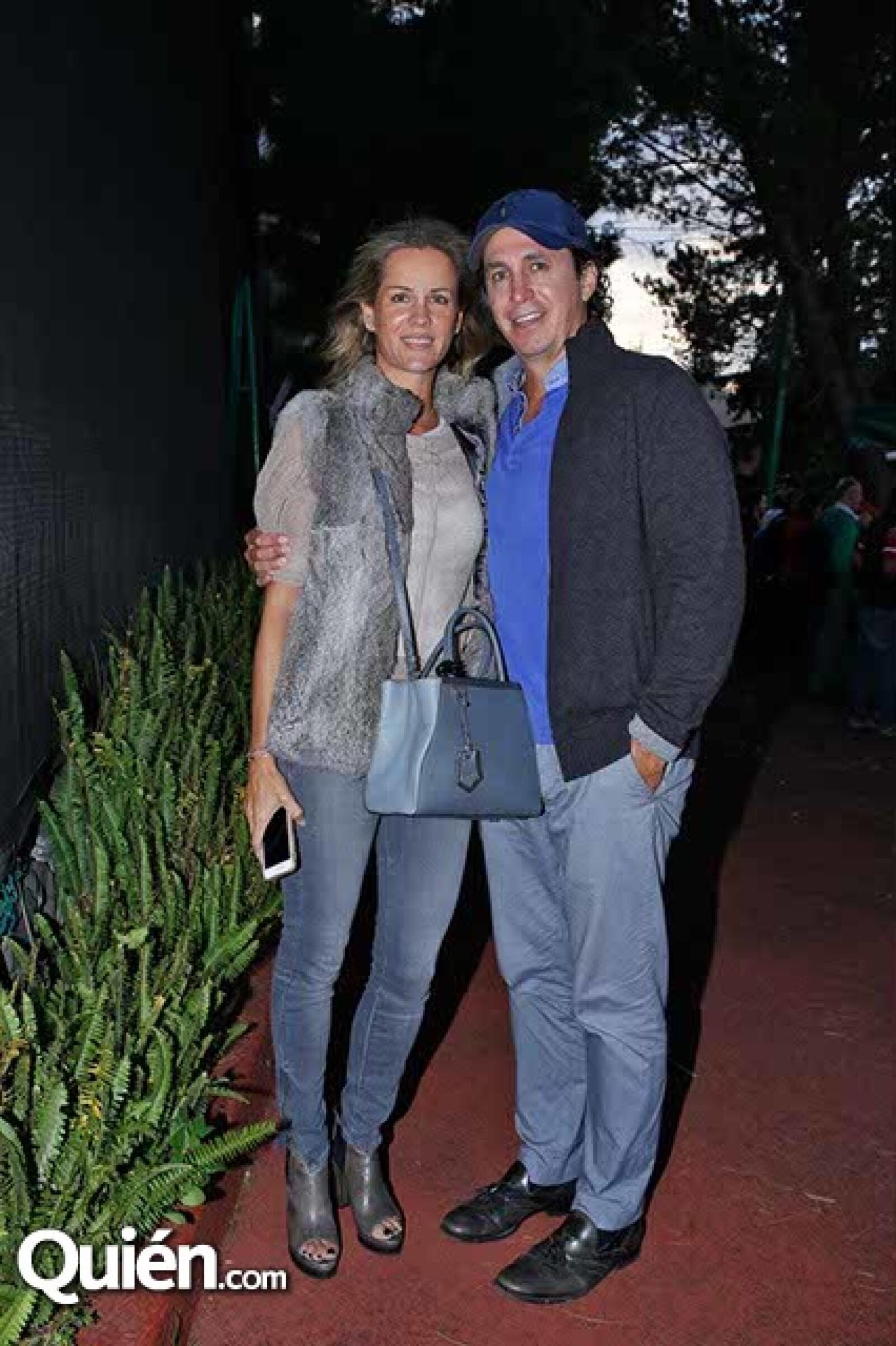 Jacqueline Beristain y Rolf Schlettwein