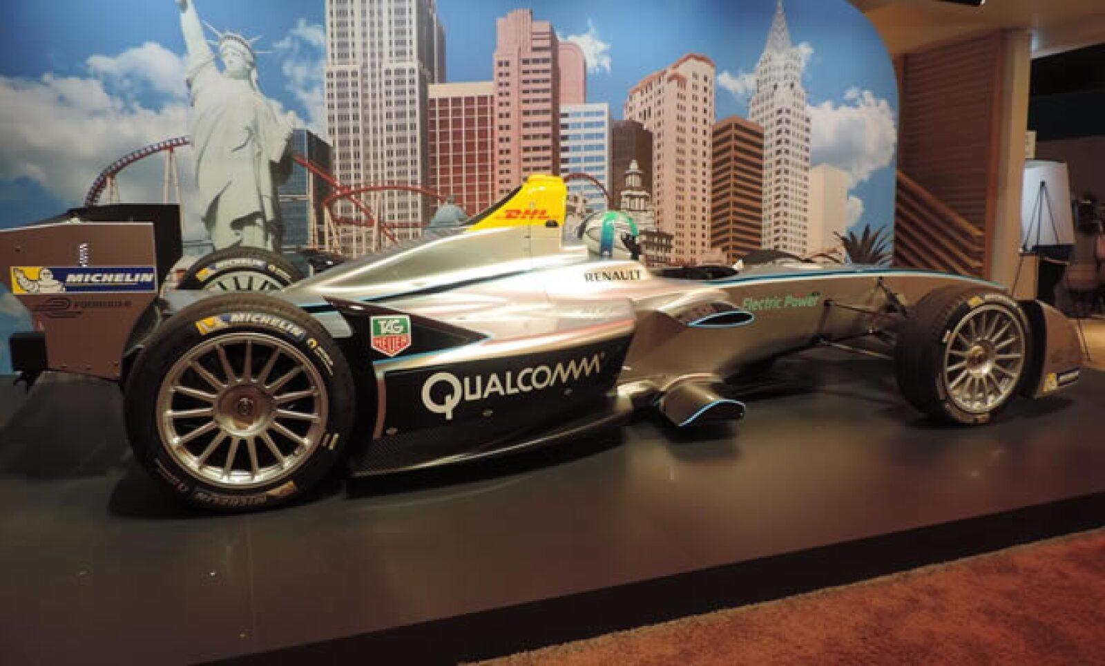 Este martes fue presentada la Fórmula E, el primer torneo con autos eléctricos.