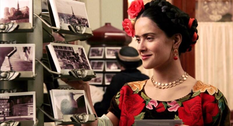 Salma Hayek en Frida.