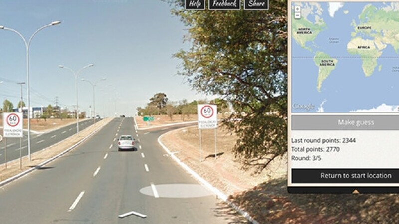 GeoGuessr juego google maps