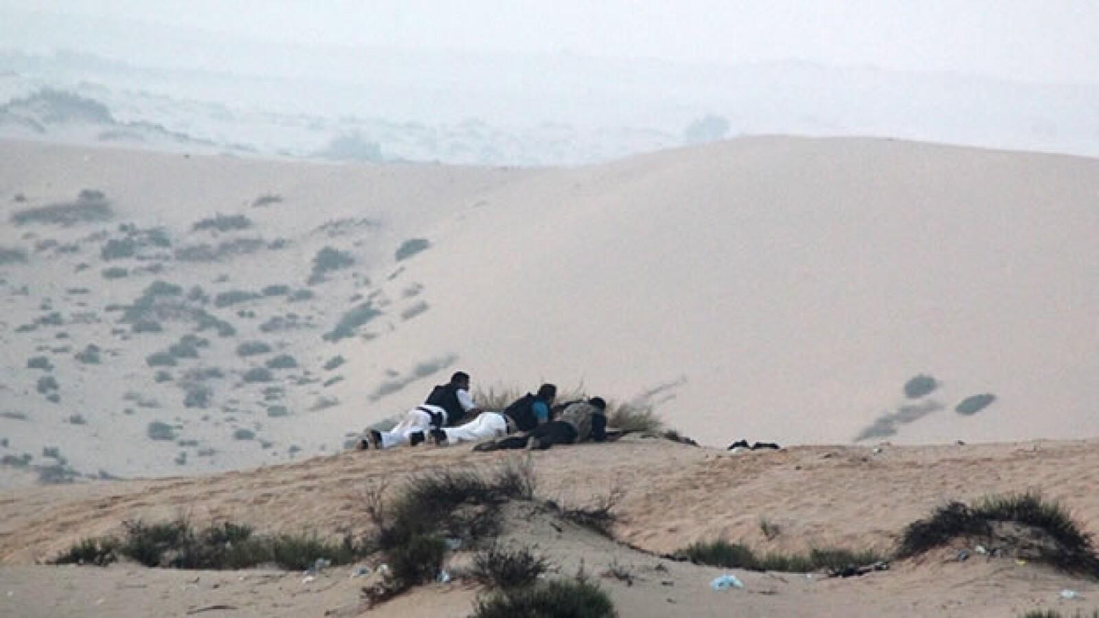 Militantes se refugian tras una operacion militar