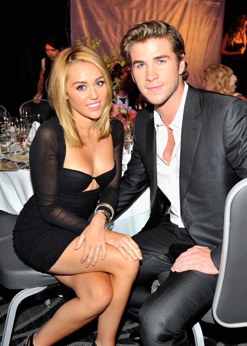 Liam Hamsworth y Miley Cyrus