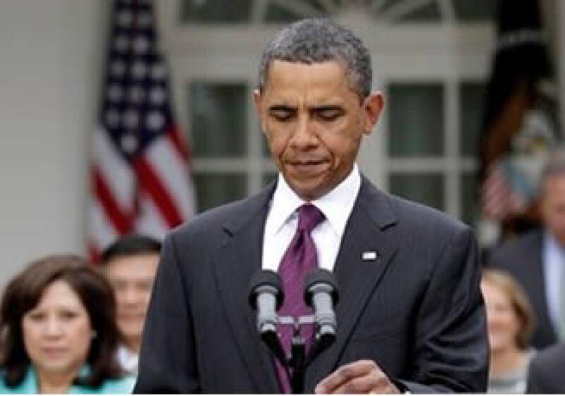 Obama estudia medidas tributarias e inversiones para impulsar la creación de empleo (Foto: AP)