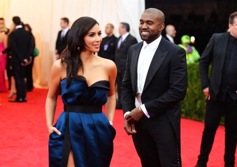 Kim y Kanye se casarán luego de haberse comprometido en octubre de 2013.