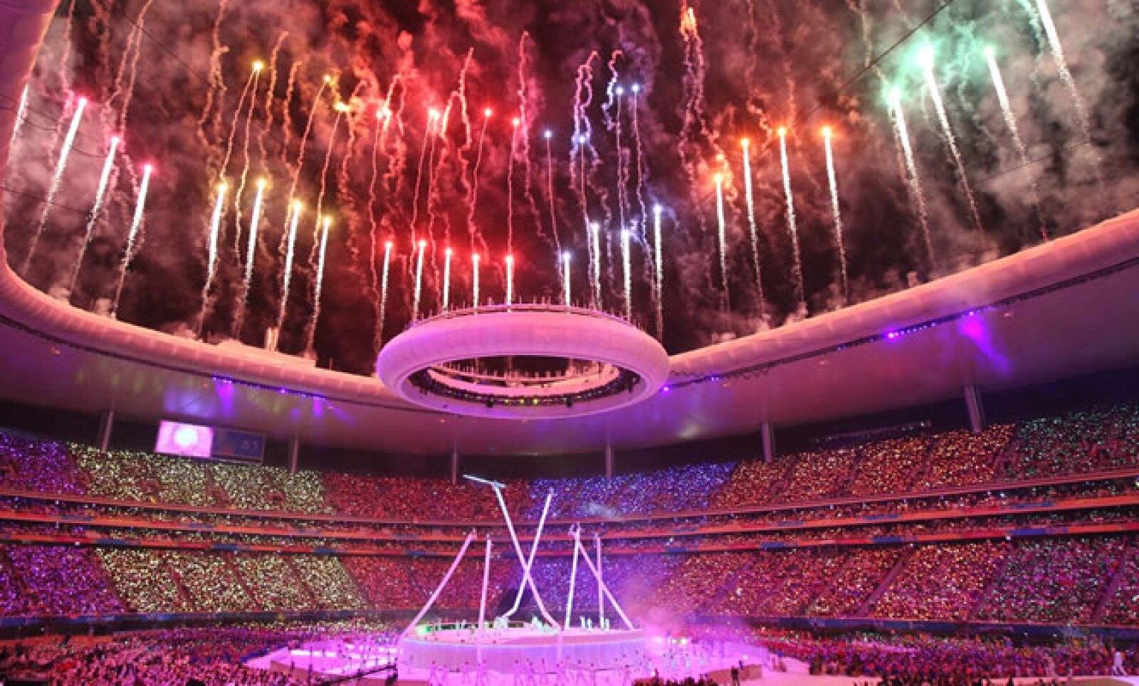 El 14 de octubre se inauguró la XVI edición de los Juegos Panamericanos, en Guadalajara, con la presencia de casi 6,000 atletas.