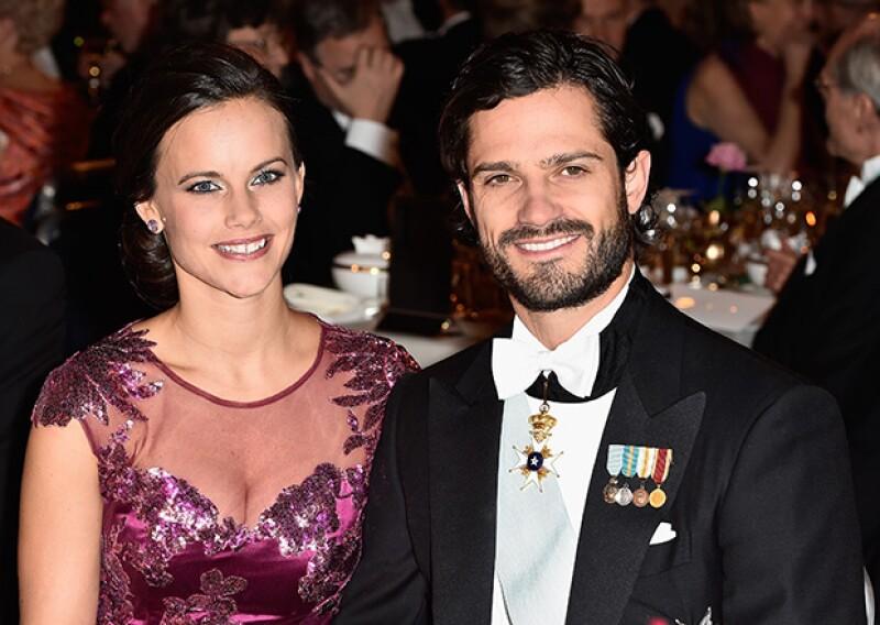 Falta poco para la boda entre Sofia Hellqvist y el royal de Suecia y ella lo celebró con un fin de semana en un lujoso castillo con sus amigas, hermanas y su cuñada, la princesa Victoria.