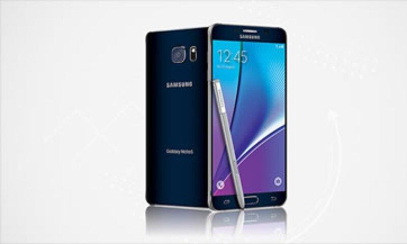 Este es el nuevo Galaxy Note 5 de Samsung. (Foto: Samsung)