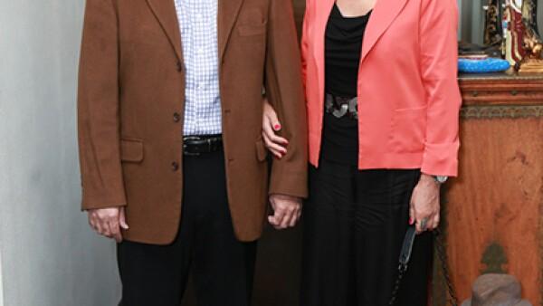 Pedro Ortiz y Patricia de Ortiz
