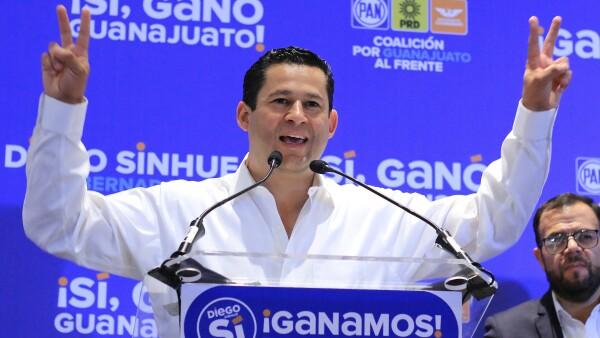 Gobernador de Guanajuato.