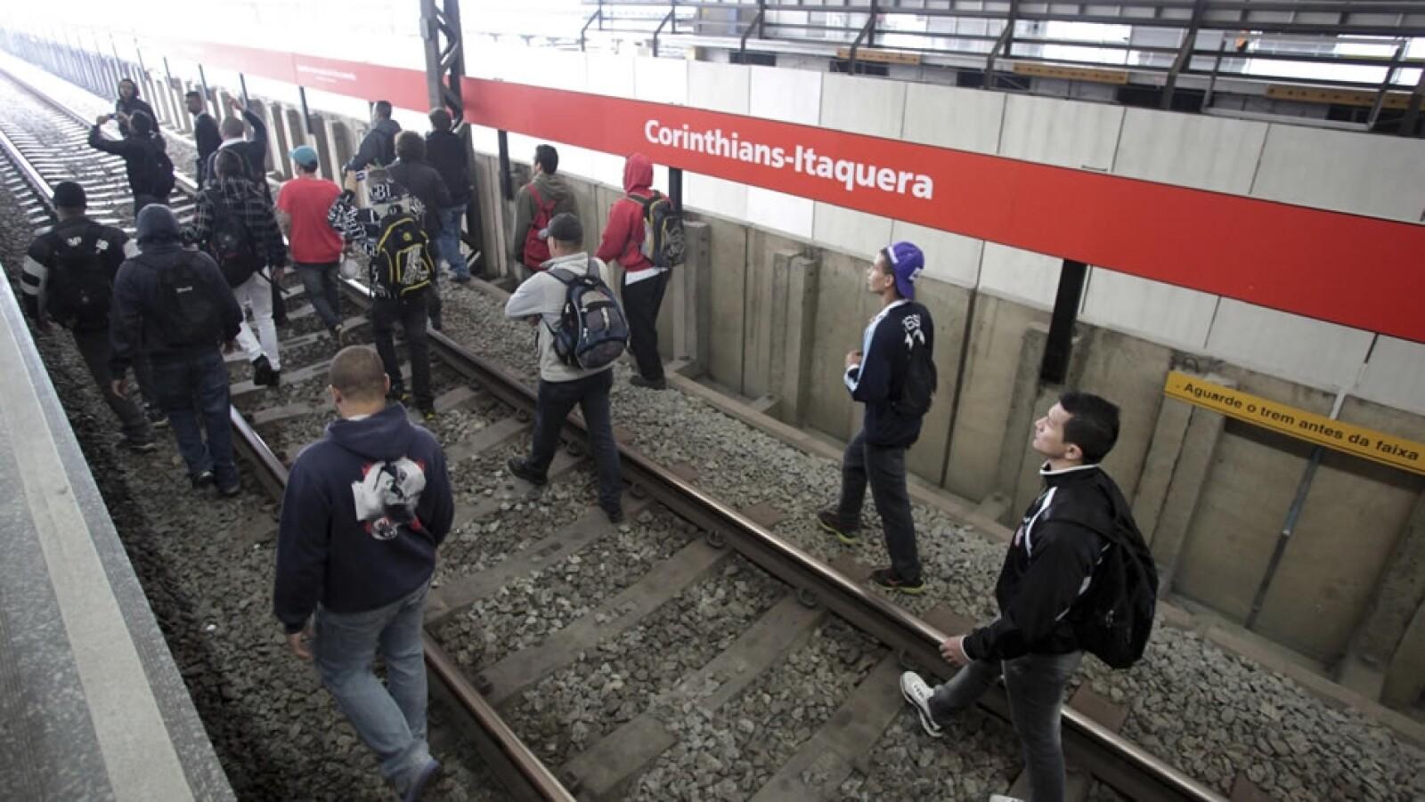huelga transporte Sao Paulo