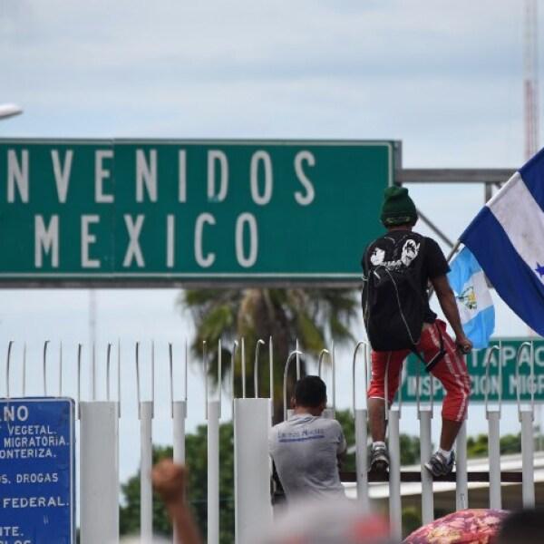 Entrada a México