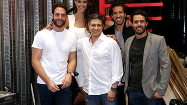 Jaime Tabachnik, Andrea Tabachnik, Alejandro Arce, Jacobo Luchtan y Andrés Morales