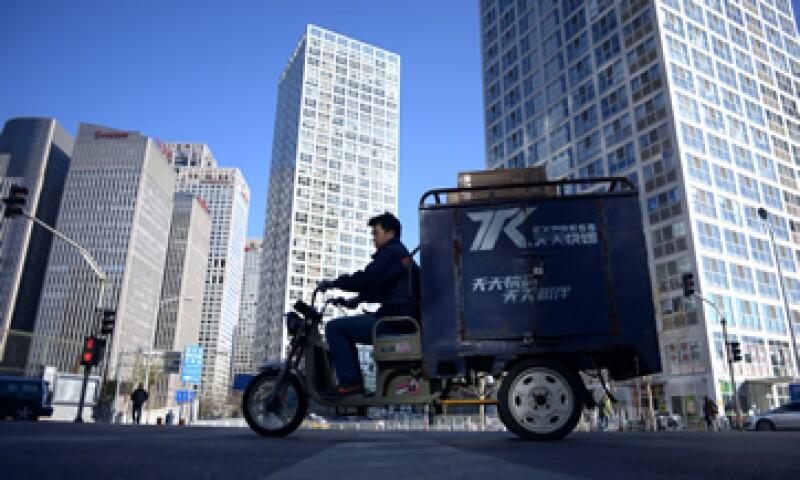 El índice de precios al consumidor de China bajó 0.2% en noviembre respecto a octubre. (Foto: AFP )