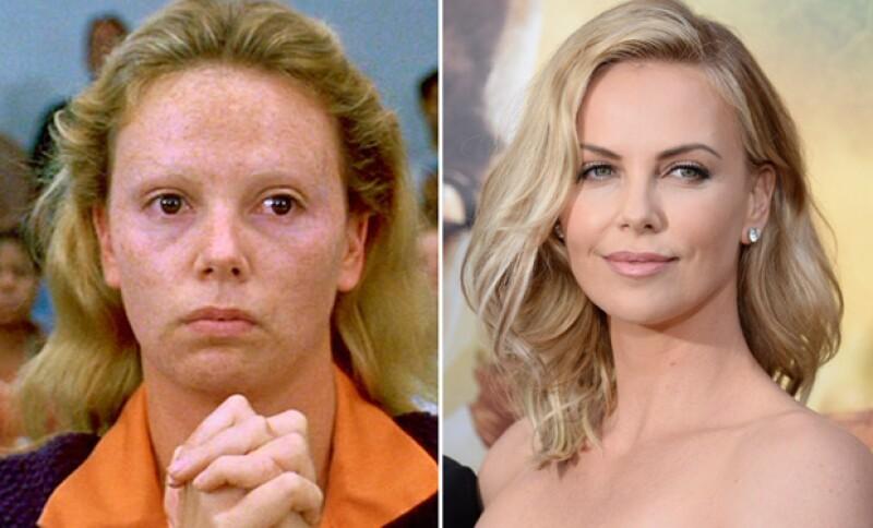 Charlize interpretó a una asesina serial.