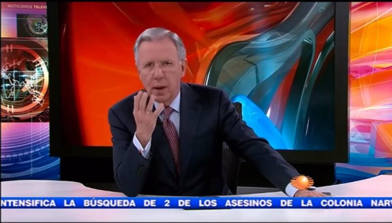 Joaquín no pudo evitar mostrar su molestia ante las cámaras.