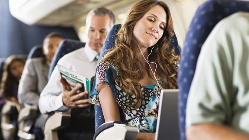 pasajeros avion