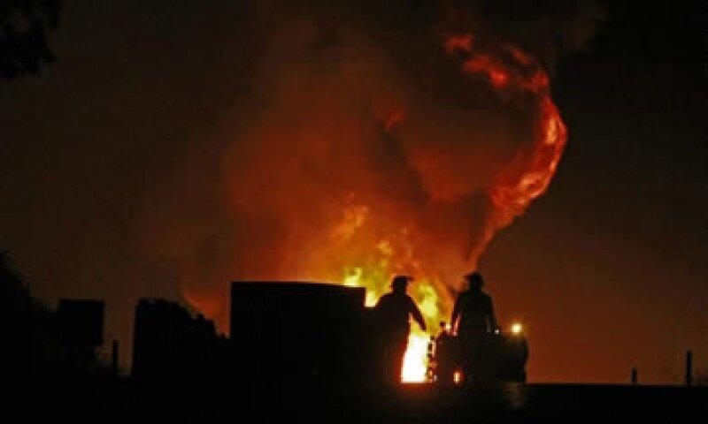 En septiembre pasado se registró una explosión en instalaciones de Pemex en Tamaulipas que dejó 27 muertos. (Foto: Notimex)
