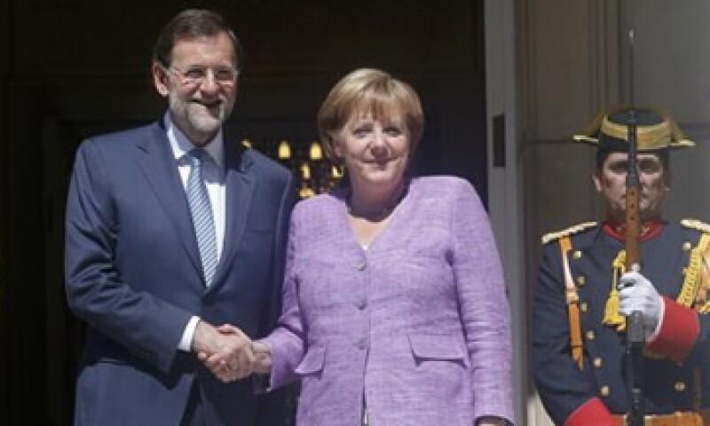 La canciller alemana Angela Merkel defendió la política de ajustes en la que se ha embarcado el Gobierno de Mariano Rajoy. (Foto: Reuters)