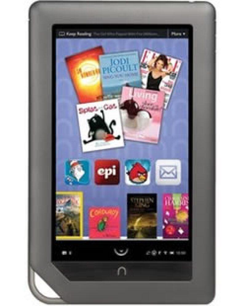 Barnes dispuso 125 nuevas aplicaciones para el lector Nook Color. (Foto: AP)