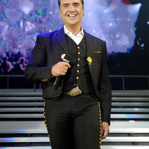En 2011 durante su presentación en el hotel MGM de Las Vegas.