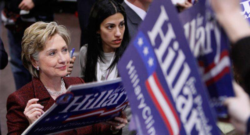 Huma es asesora personal de la candidata demócrata.