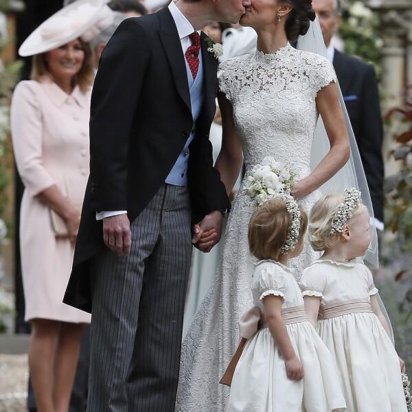 James Mathews y Pippa Middleton