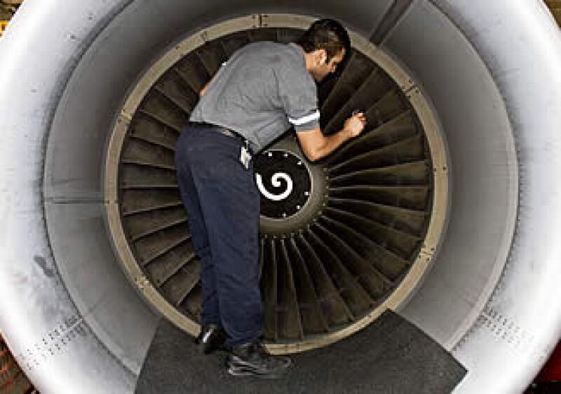 MRO Services de Mexicana tratará de crecer, como mínimo, un 35% en el 2010.  (Foto: Ernesto Ramírez)