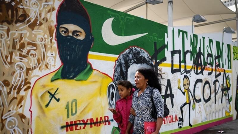 Brasil, Mundial, copa del mundo, protestas, neymar