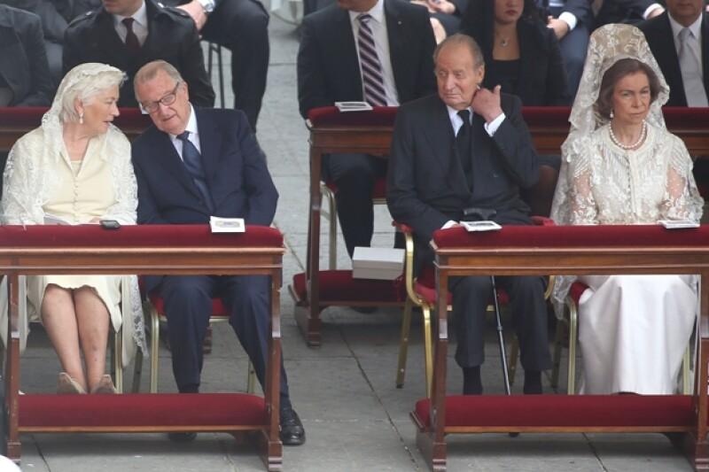 Los Reyes de Bélgica y los de España entre los invitados especiales.