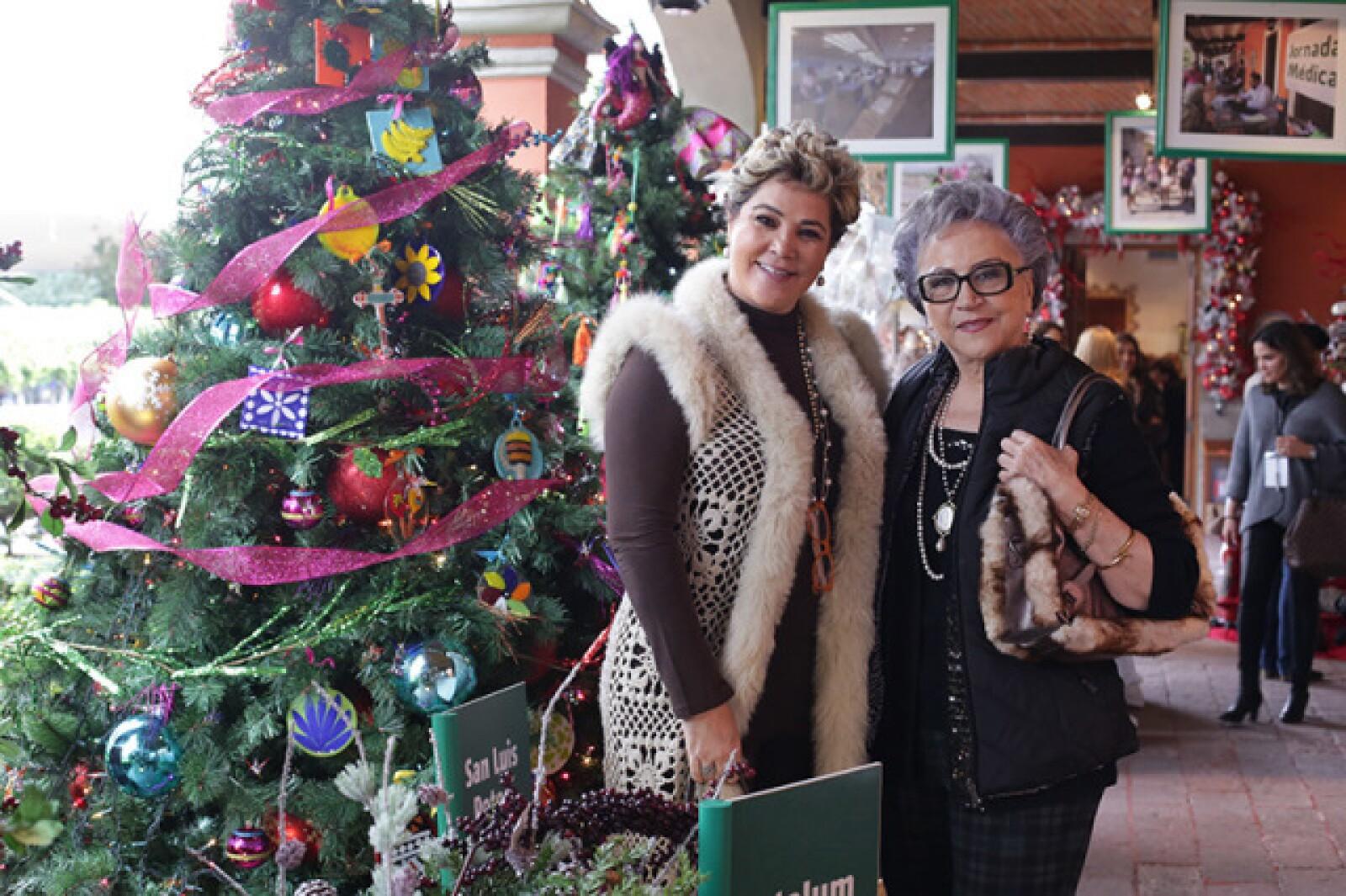 Karla Cardona y María Elena Margain