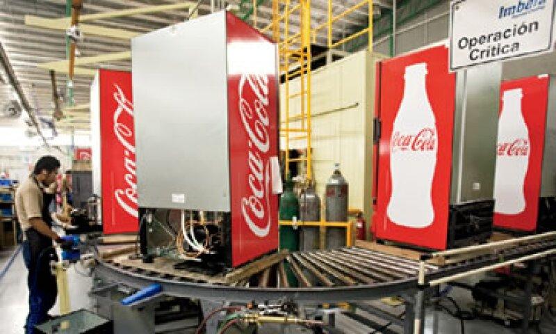A través de su subsidiaria Imbera, FEMSA fabrica cerca de 350,000 equipos de refrigeración al año. (Foto: Adán Gutiérrez)