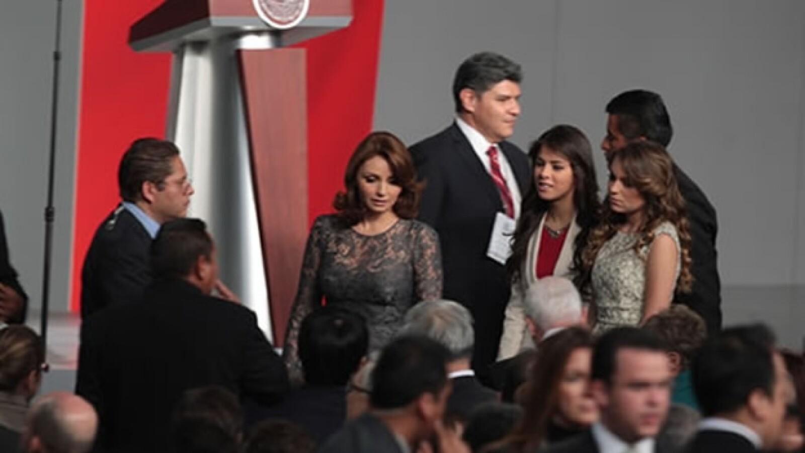 familia Enrique Peña Nieto Palacio Nacional