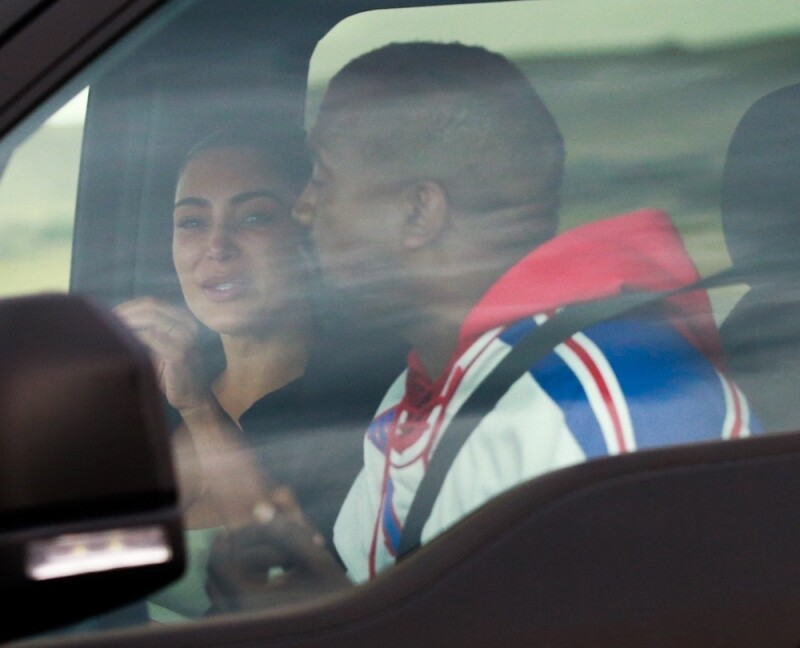 PREMIUM EXC Kim Kardashian, Kanye West