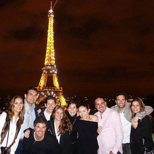 Cena en París.