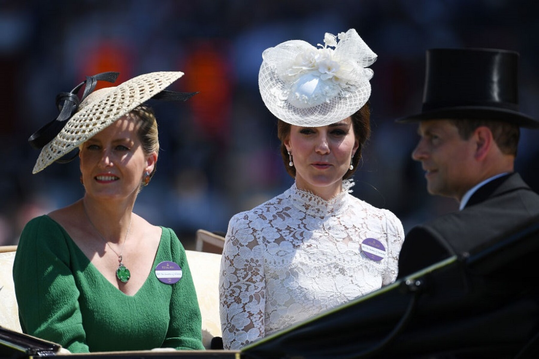 Sophie Wessex y Kate Middleton