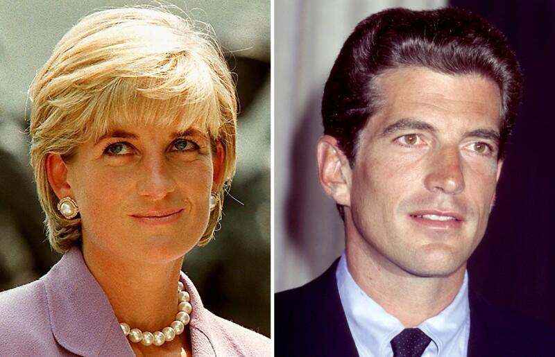 Princesa Diana, John F. Kennedy Jr