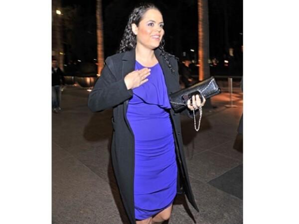 Mariana Gómez del Campo también fue una de las invitadas de lujo.