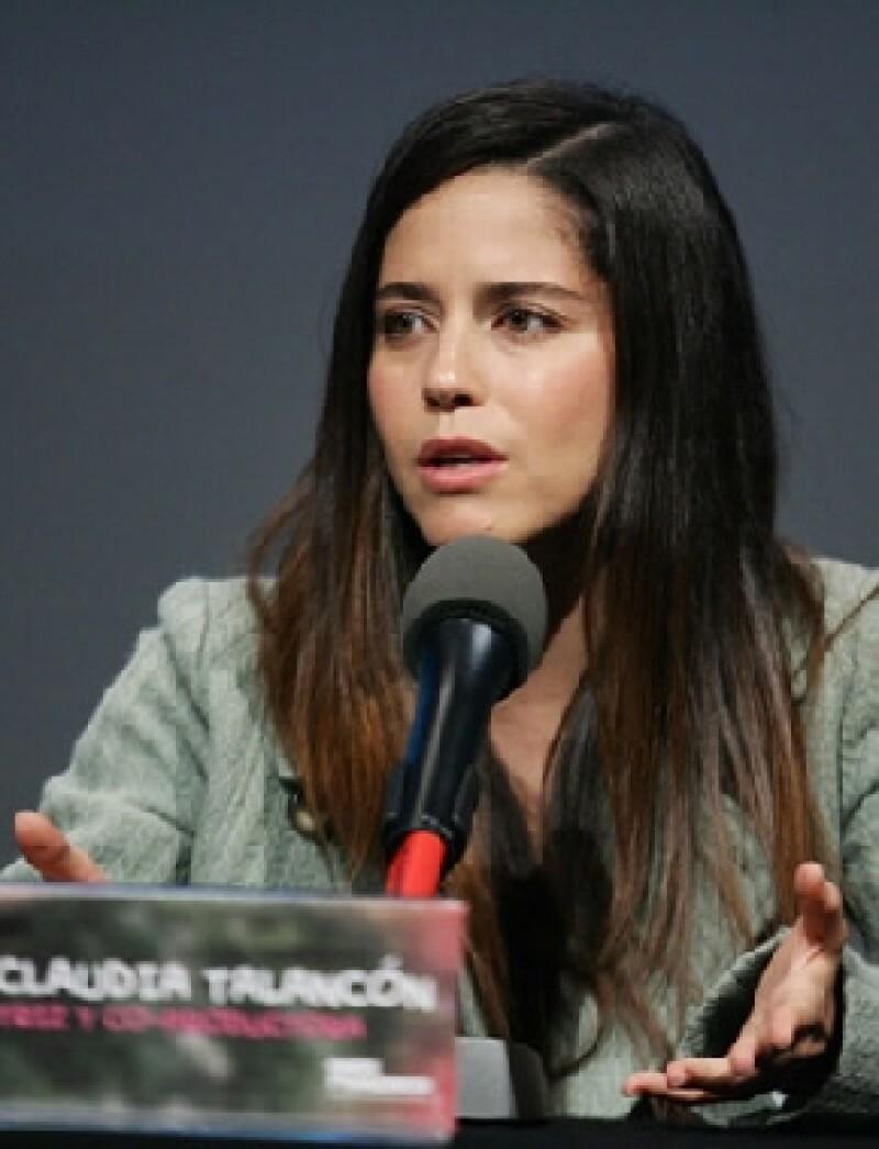 A Ana Claudia Talancón le encantaron las frases que dice su personaje.