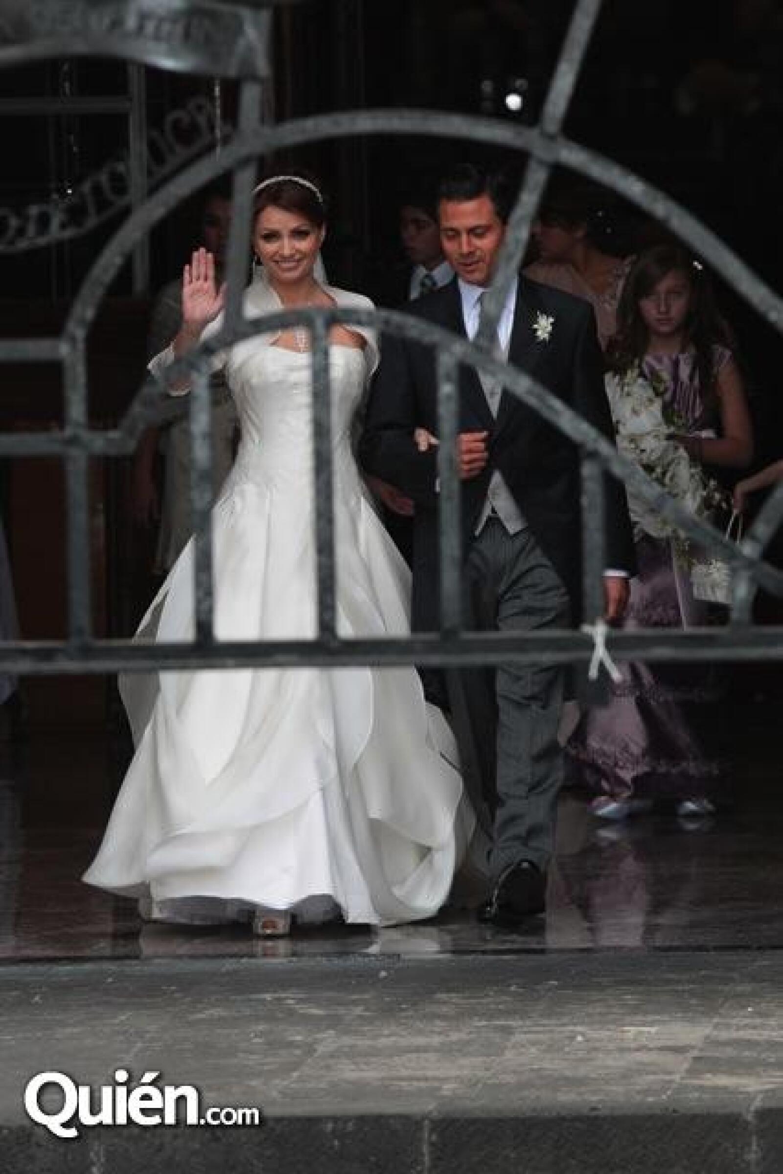 Angélica Rivera y Enrique Peña Nieto
