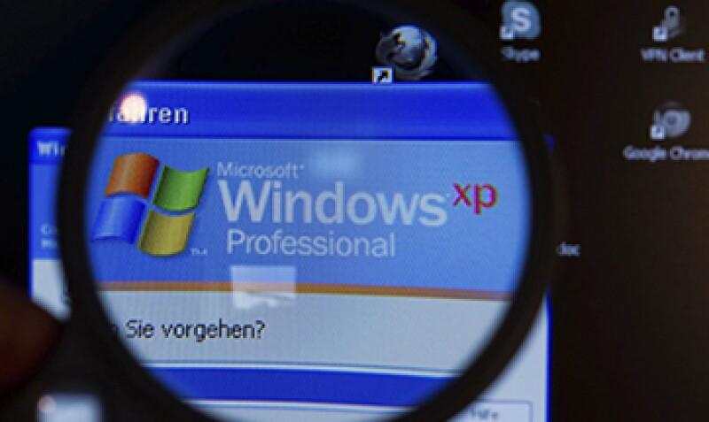 Aproximadamente 95% de los cajeros automáticos funcionan con Windows XP. (Foto: EFE)